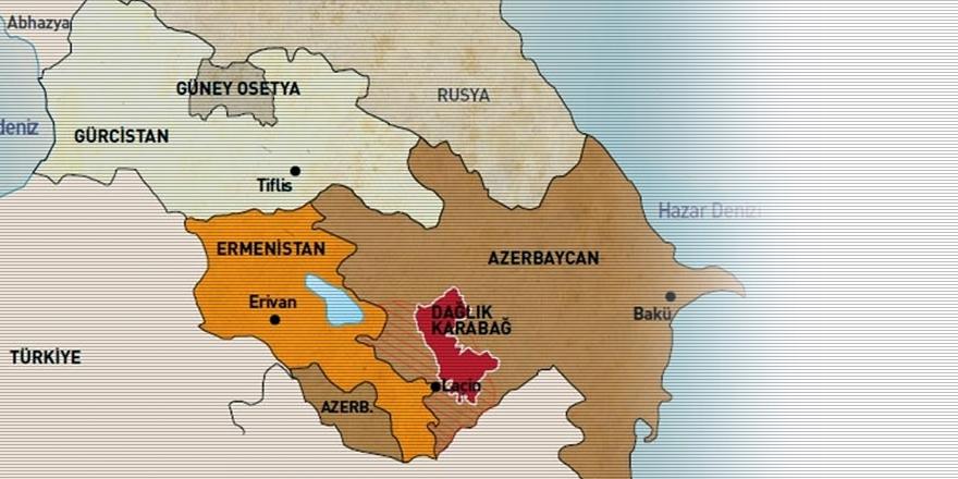 'Azerbaycan-Ermenistan Sınırı'nda Çatışma