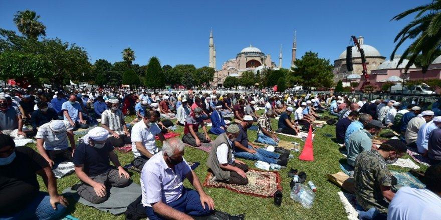 İstanbul | Ayasofya'da 86 Yıl Sonra İlk Cuma