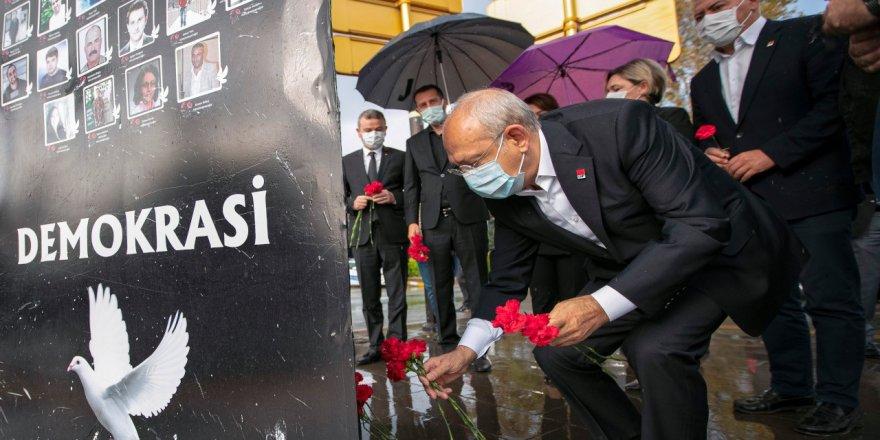 Kılıçdaroğlu, '10 Ekim Anması'na Katıldı