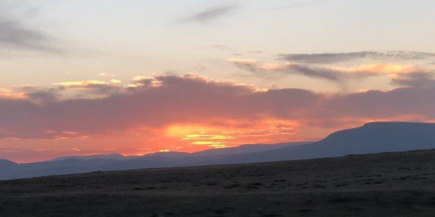 Kars'ta Kartpostallık Gün Batımı