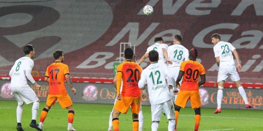 Konyaspor, Galatasaray'ı Affetmedi