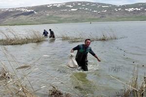 Çıldır Gölü'de Eskimo BALIKÇILAR