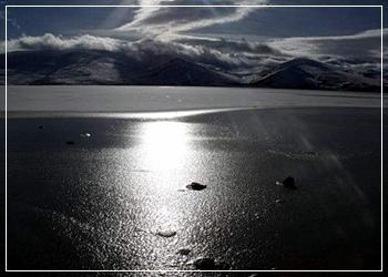 Çıldır Gölü Henüz BUZ TUTMADI