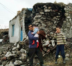 Yağmurdan Toprak Damlı Evler ÇÖKTÜ