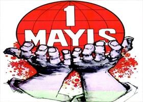 1 Mayıs Taksim&#39de Rengarenk Kutlandı