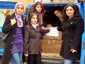 KAÜ'lü Öğrencilerden Elazığ'a YARDIM