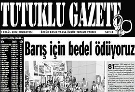 Tutuklu Gazete Barış İçin ÇIKIYOR