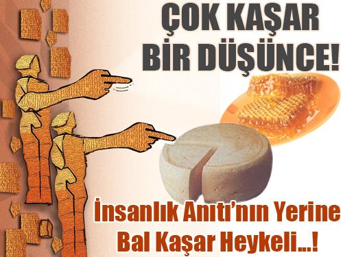 Karsa Bal ve Kaşar Heykeli YAPILACAK