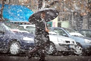 Kars'a 13 Nisan'da Lapa Lapa KAR Yağdı