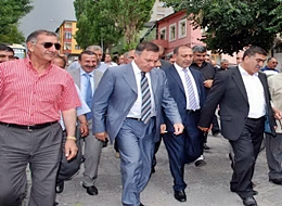 CHP'li Gürsel Tekin Kars'a GELDİ