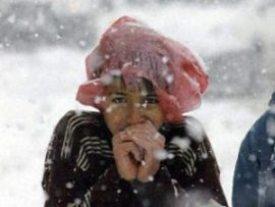 Kars'ta Yoğun KAR YAĞIŞI ve TİPİ