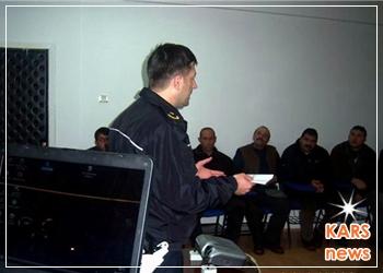 'Kars Polisi'nden Sürücülere Eğitim
