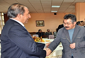 Kars Valisi Taziyeleri KABUL ETTİ