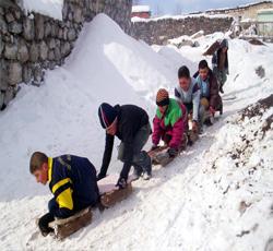 Kış Ardahan&#39a Erken GELDİ