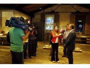 Ulusal Ve Yerel Medya Temsilcileri İslam Bilim Tarihi Müzesi'ni Gezdi