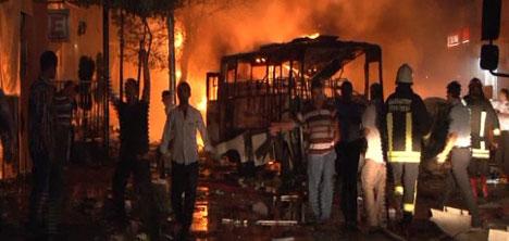 Gaziantepte Bombalı Saldırı, 9 ÖLÜ