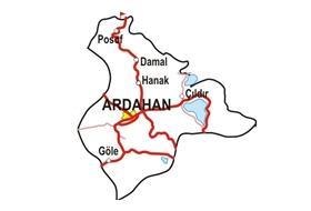 Ardahan'da 'Kura Ardahan'ındır' Eylemi