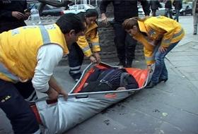 Sokak  Ortasında Kalp Krizi GEÇİRDİ