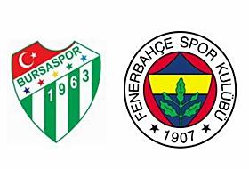 Bursaspor-Fenerbahçe Maçının Biletleri
