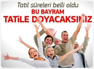 Ramazan Bayram Tatili 9 Gün OLACAK