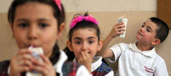 Okul Sütü Projesinde ZEHİRLENME