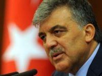 Abdullah Gül'den Açıklamalar