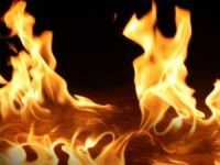 'Taziye Çadırı'nda Yangın