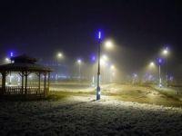Ardahan Üniversitesi Yerleşkesine Kar Yağdı