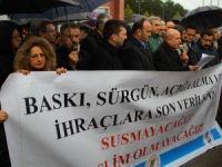 Samsun'da KHK Eylemleri
