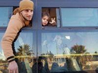 Halep'ten İlk Konvoyla 951 Kişi Ayrıldı