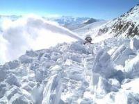 Erzurum'un İlçelerinde Kar ve Tipi