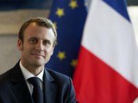 Macron'dan Suriye'ye Saldırı Açıklaması