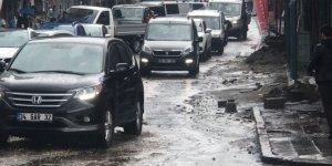 Kars'ta Sağanak Yağış ve Dolu