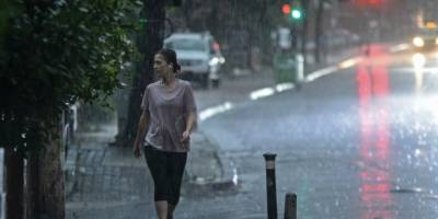 'Bölge'de Sağanak Yağış Etkili Oluyor