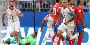 Sırbistan, Kosta Rika'yı 1-0'la Geçti