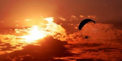 Yalnızçam'da Yamaç Paraşütü Keyfi