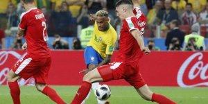 Brezilya, Sırbistan'ı 2-0 Mağlup Etti