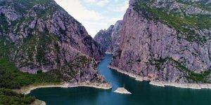 'Şahinkaya Kanyonu' Turistlerin Yeni Gözdesi