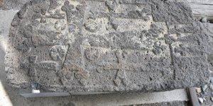 'Ermeni Mezar Taşı'na El Konuldu