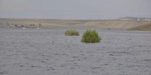 Kars Baraj Gölü'nde Su Seviyesi Yükseliyor