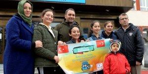 Şampiyon Öğrenciler Çin'e Uğurlandı