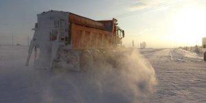 'Kars ve Bölge'de Ulaşıma Kar Engeli