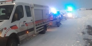 Arpaçay'da Hasta Kurtarma Operasyonu