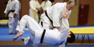 Putin, Zirve Sonrası Judo Yaptı
