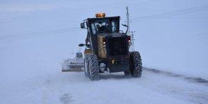Kars'ta 14 Köy Yolu Ulaşıma Kapalı