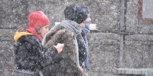 Bölgenin 3 İlinde Kar Yağışı