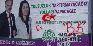 HDP'nin 'Seçim Afişleri'ne Saldırı