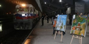 ''Tren Garı'nda Resim Sergisi