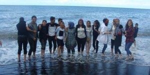 Karslı Çocuklar Karadeniz'i Gezdi