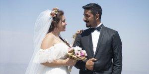 Dağcı Çift 'Zirve'de Nikah Kıydı